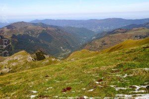 Vallée du Courtignou vue du mont Ceint (2088m)