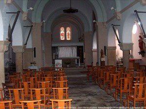 Saint-Martin-d'Oydes - Eglise Saint-Anasthase