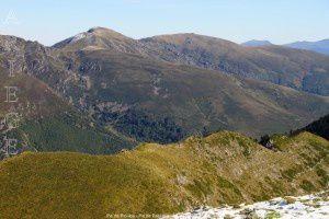 Pic de Pioulou - Pic de Bassibié vus du mont Ceint (2088m)