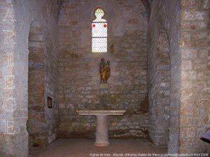 Eglise de Vals - Abside (XIIème)