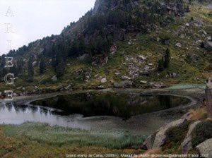 Grand étang de Carau (2088m)