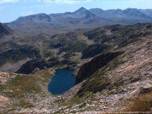 Etang Faury (2360m) - Puig Carlit (2921m)
