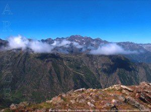 Massif du Montcalm de la pique d'Endron (2412m)