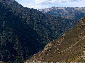 Soulcem vu du col du Picot (2468m)