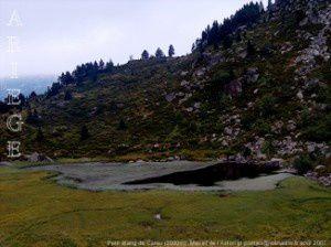 Petit étang de Carau (2000m)
