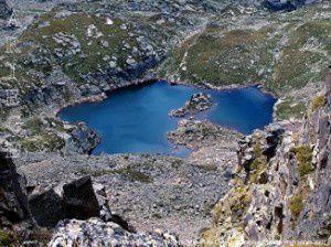 Petit étang de Joclar (2454m)