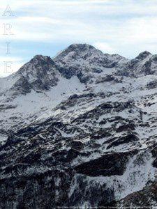 Mont Valier du cap de Bouirex (1873m)