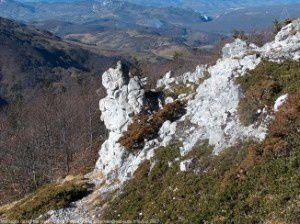 Montagne de la Frau (vers 1600m)