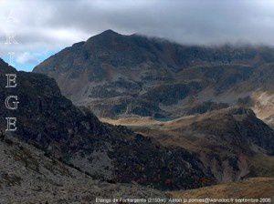 Etangs de Fontargenta (2150m)