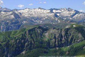 Massif de Bassiès vu du pic de Peyroutet (2165m)