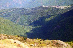 Bonascre - Vallée de Savignac vus de Falgarouse (1943m)