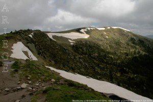 Bourbourou vu de Campalou (2132m)