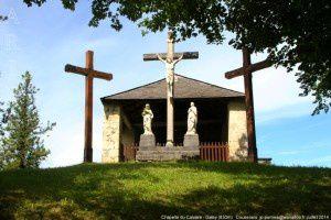 Chapelle du Calvaire - Galey (830m)