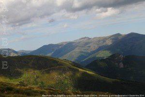 Massif des Trois Seigneurs vu du pic du Midi de Siguer (2003m)