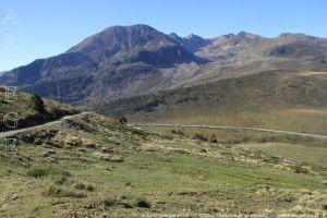 Pic de Font Freda vu du GR107 (2000m)