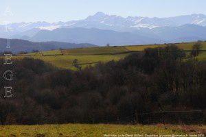 Mont Valier vu de Clanet (553m)