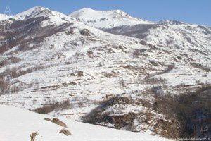 Caychax vu du Sarrat des Taychous (1041m)