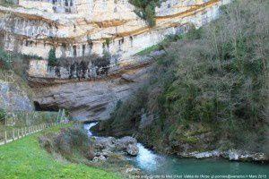 Entrée aval - Grotte du Mas d'Azil