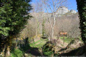 Montée à la Roche Ronde - Contrac (691m)