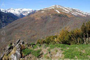 Roc du Trabinet vu du Sommet du Mont (1196m)
