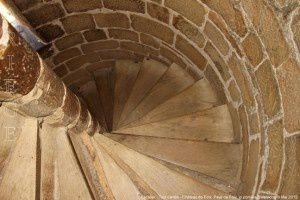 Escalier - Tour carrée - Château de Foix