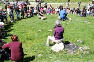 Tonte des moutons - Le Carla - Montée à l'estive de Soulcem
