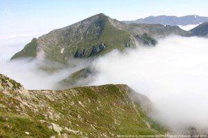 Mont Ceint vu du mont Garias (2006m)