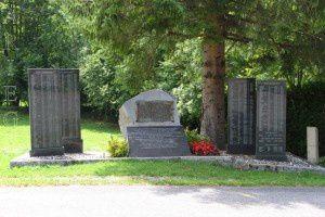 Stèles commémoratives - Aulus-les-Bains