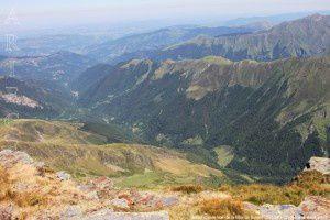 Vallée d'Orle vue de la Mail de Bulard (2750m)