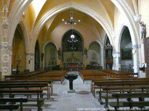 Eglise Saint-Eparche - Saint-Ybars