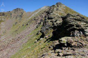 Pic de l'Etang Fourcat - Sommet  2740m