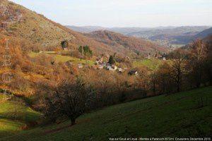 Vue sur Goué et Liqué - Montée à Paracoch (672m)