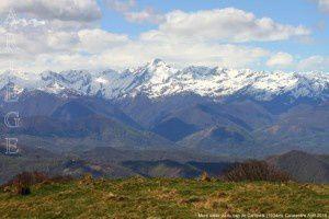 Mont Valier vu du cap de Campets (1504m)