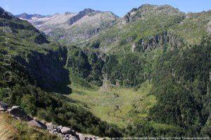 Vue sur le Garbettou - Sentier de l'étang du Garbet (1720m)