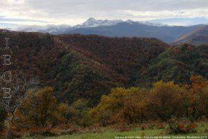 Vue sur le mont Valier