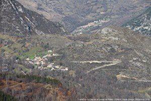 Larnat vu du Cap de la Lesse de Bialac (1568m)