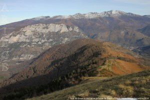 Quié de Sinsat vu du Cap de la Lesse de Bialac (1568m)