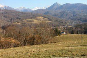 Vue sur la vallée du Salat - Ségouge (650m)