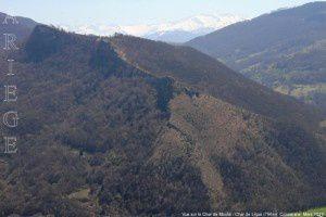 Vue sur le Char de Moulis - Char de Lique (796m)