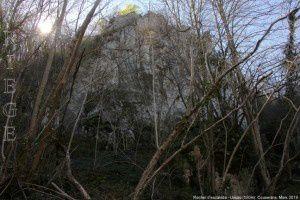 Rocher d'escalade - Ussau (550m)