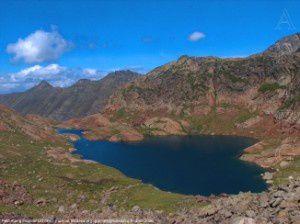 Petit étang Fourcat (2339m)