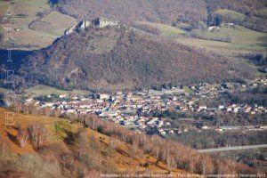 Montgailhard vu du Roc du Prat de Redon (1088m)