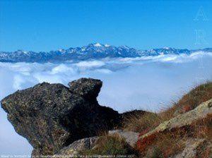 Massif du Montcalm du pic de Soularac