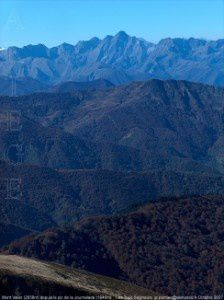 Mont Valier (2838m) depuis le pic de la Journalade (1945m)