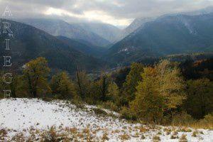 Vue vers les gorges de la Frau - Barthole (678m)