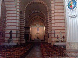 Nef et choeur - Notre-Dame de Sabart