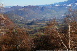 Foix vu de Montcoustan (920m)