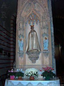 Statue de la Vierge - Notre-Dame de Sabart