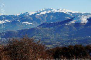 Mont Fourcat vu de Montcoustan (920m)