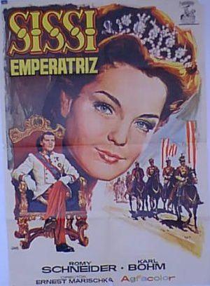 Affiche espagnole. Sissi lors de sa visite en Hongrie, bal chez Andrassy